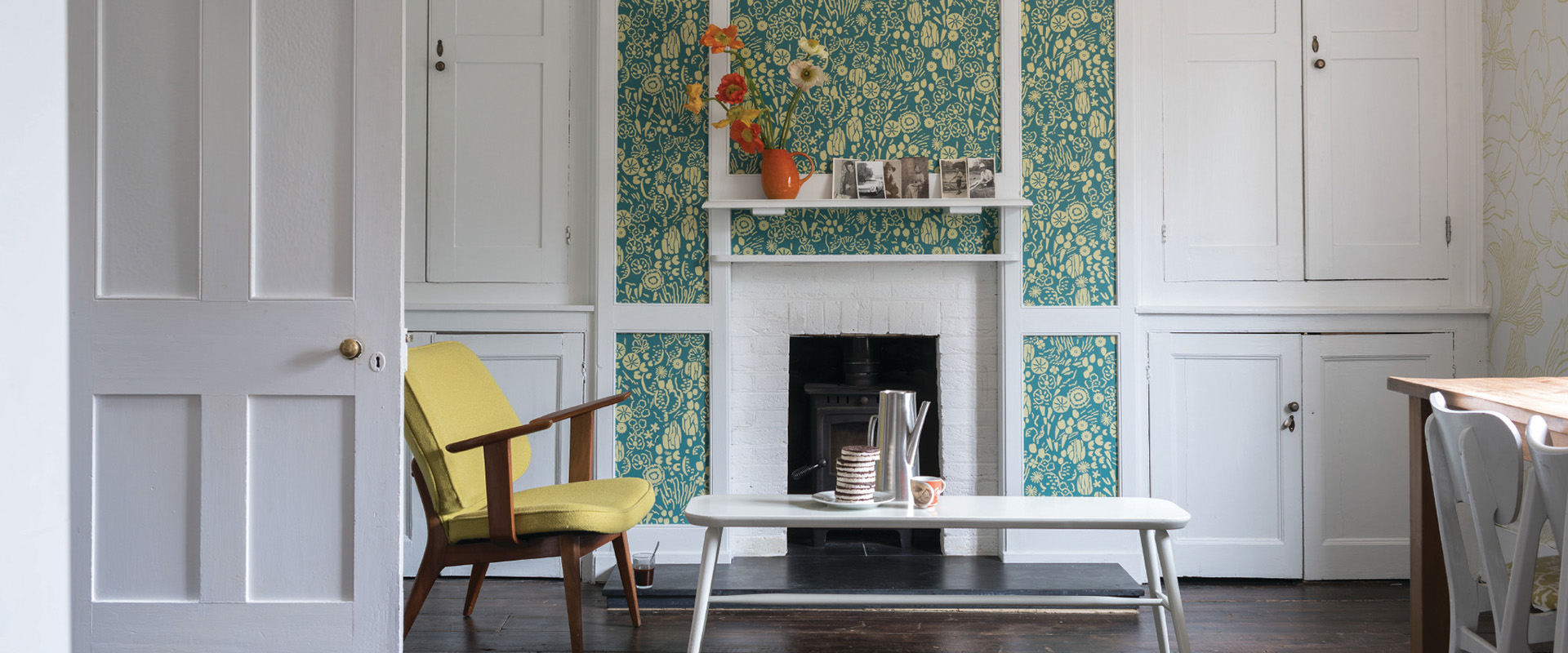 Farrow and Ball Rosslyn Wallpaper