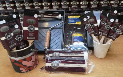 20% Discount off Brushes and Rollers During July