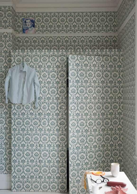 Farrow & Ball Brocade Wallpaper   Campbellwicks Interiors ...